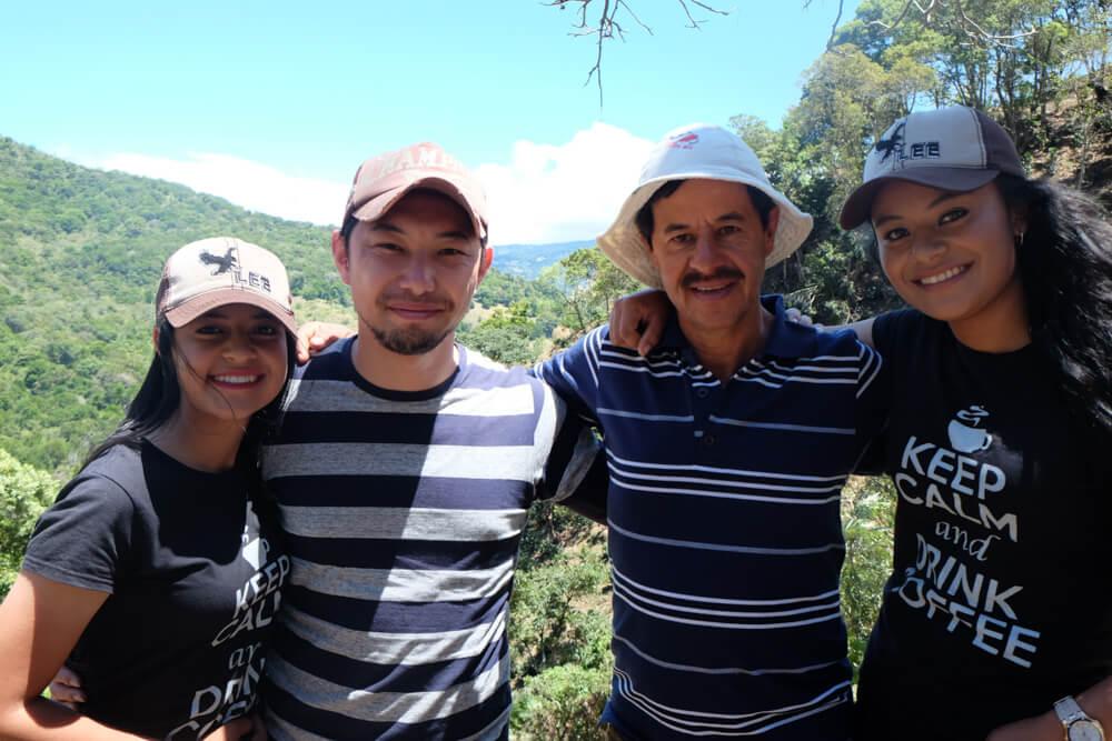 コスタリカ農園訪問