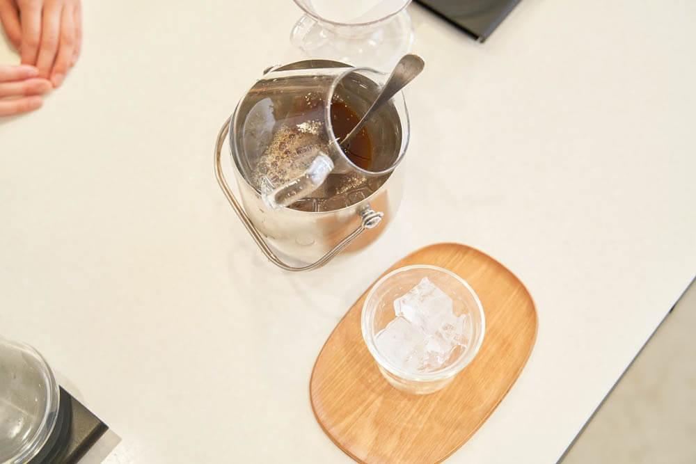 アイスコーヒードリップ イメージ